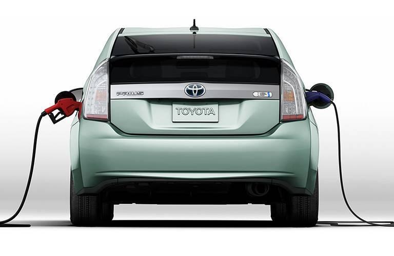 Toyota Prius Prime rear profile