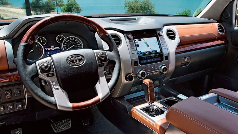 2015 Toyota Tundra interior options