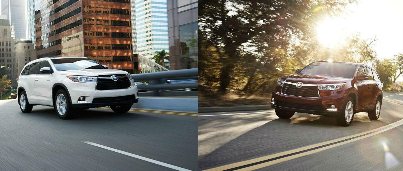 2015 Toyota Highlander vs 2015 Toyota Highlander Hybrid