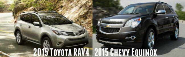 2015 Toyota RAV4 vs 2015 Chevy Equinox