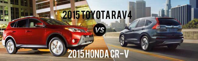 2015 Toyota RAV4 vs 2015 Honda CR-V