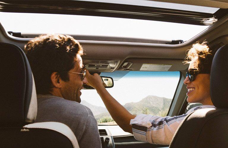 2016 Toyota Camry passenger space