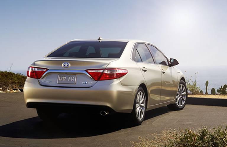 Toyota Camry Hybrid rear profile
