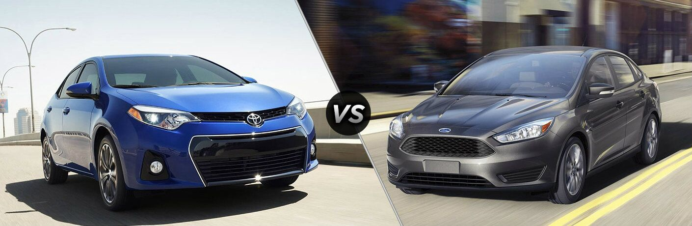2016 Toyota Corolla vs 2016 Ford Focus