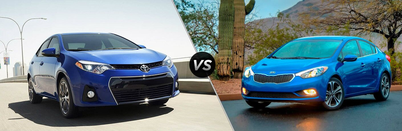 2016 Toyota Corolla vs 2016 Kia Forte