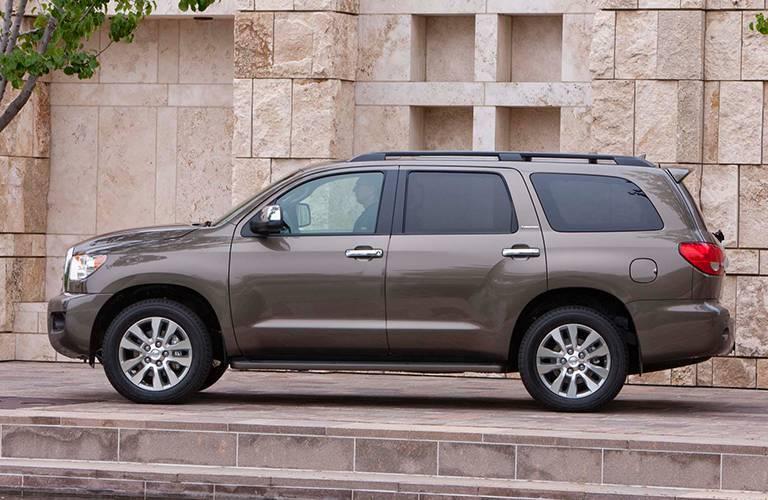 Toyota Sequoia side profile
