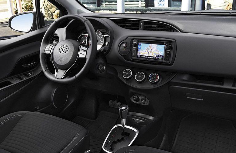 2016 Toyota Yaris driver cabin
