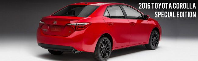 2016 Toyota Corolla Special Edition Janesville WI