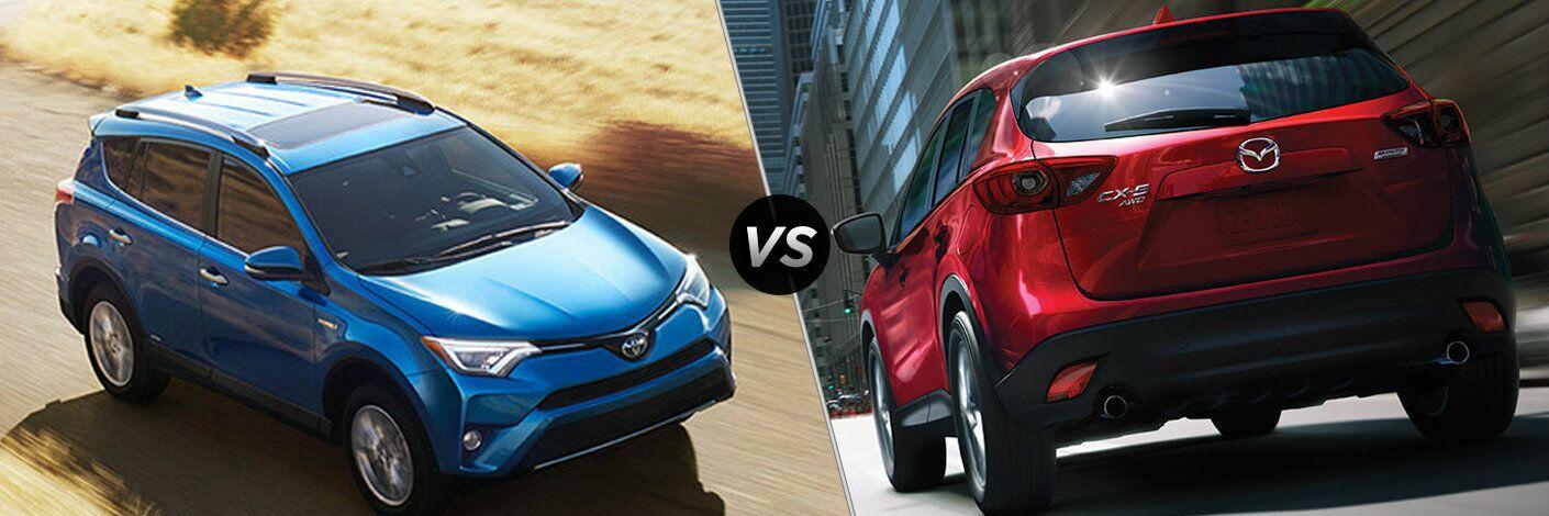 2016 Toyota RAV4 vs 2016 Mazda CX-5