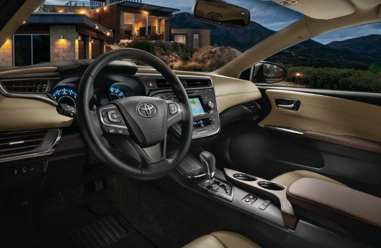 2016 Toyota Avalon driver cabin