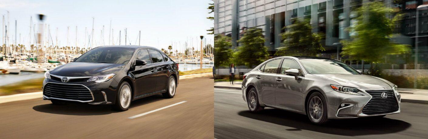 2016 Toyota Avalon vs 2016 Lexus ES 350