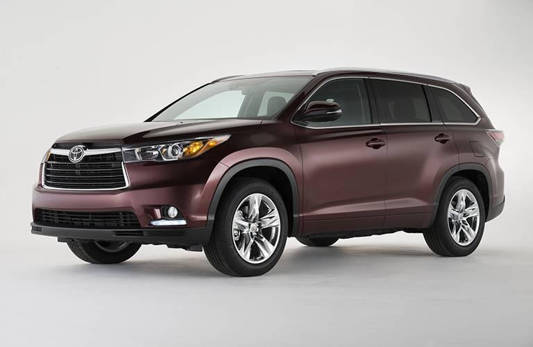 Toyota Highlander side profile