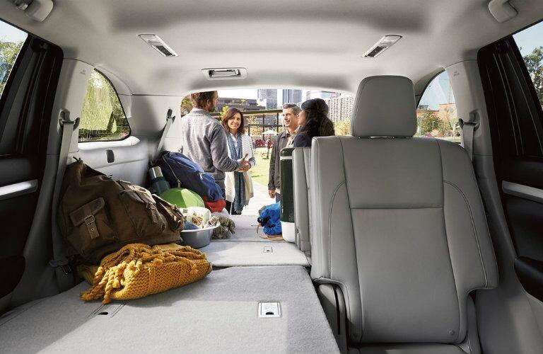 2016 Toyota Highlander cargo capacity