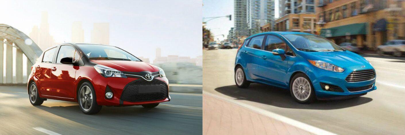 2016 Toyota Yaris vs 2016 Ford Fiesta