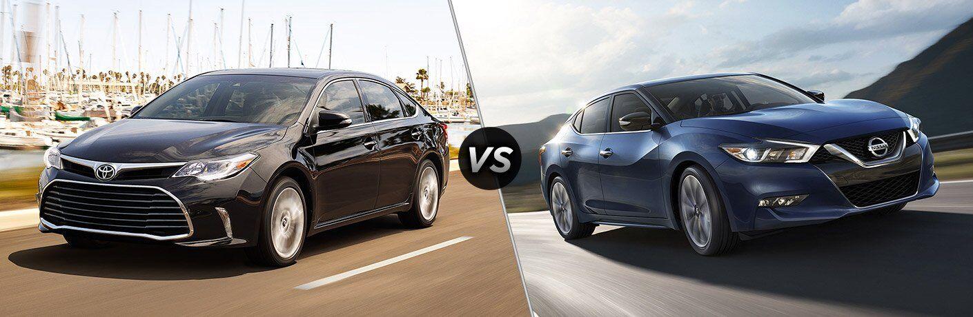 2017 Toyota Avalon vs 2017 Nissan Maxima