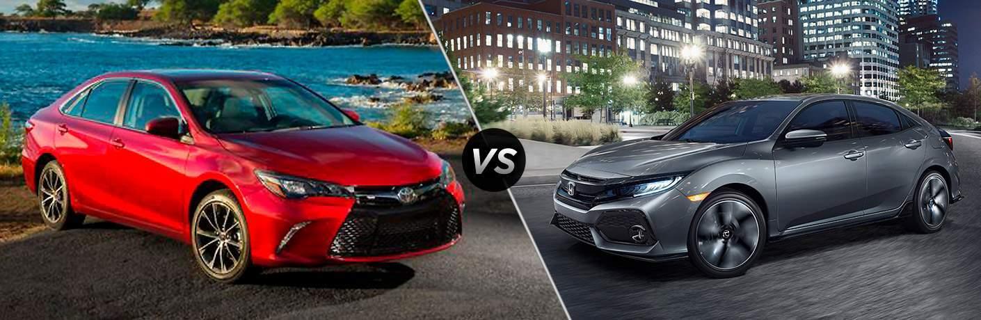 2017 Toyota Camry vs 2017 Honda Accord Hatchback