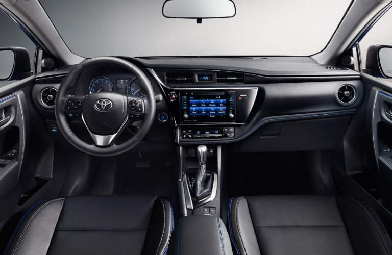 Font seats view of 2017 Toyota Corolla