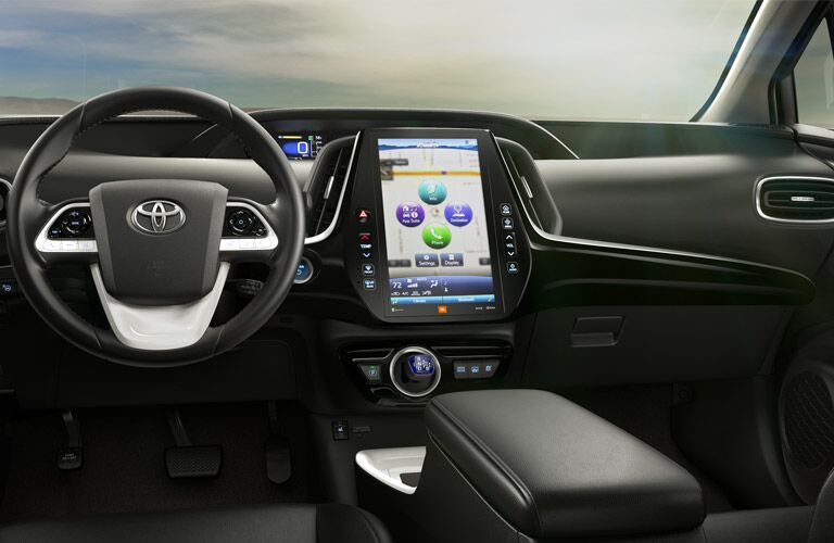 2017 Toyota Prius interior technology