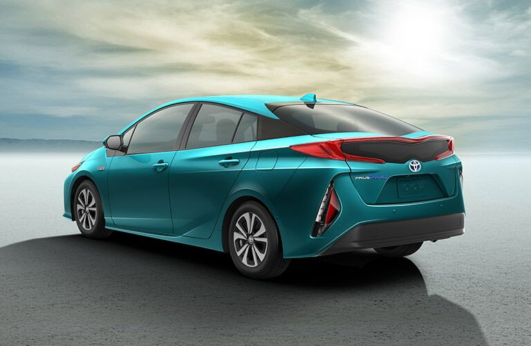 2017 Toyota Prius exterior rear