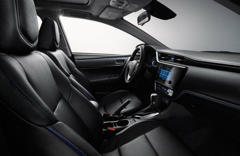 2017 Toyota Corolla interior driver's seat