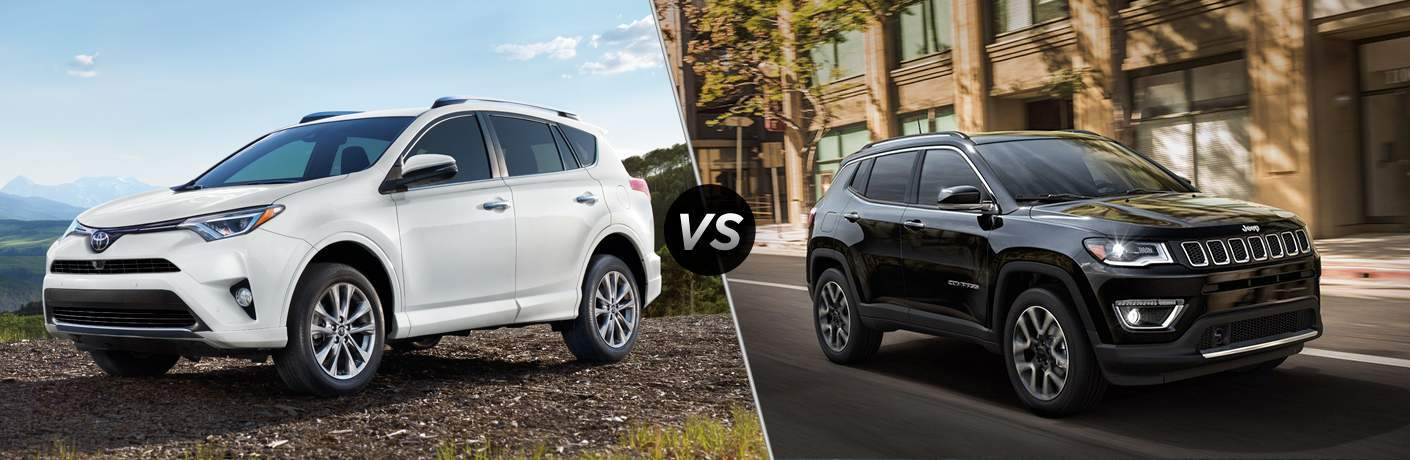 2018 Toyota Rav4 Vs 2018 Jeep Compass