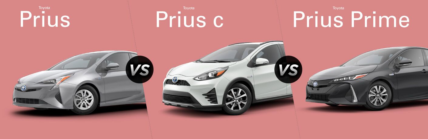 2018 toyota prius vs 2018 toyota prius v vs 2018 toyota prius prime