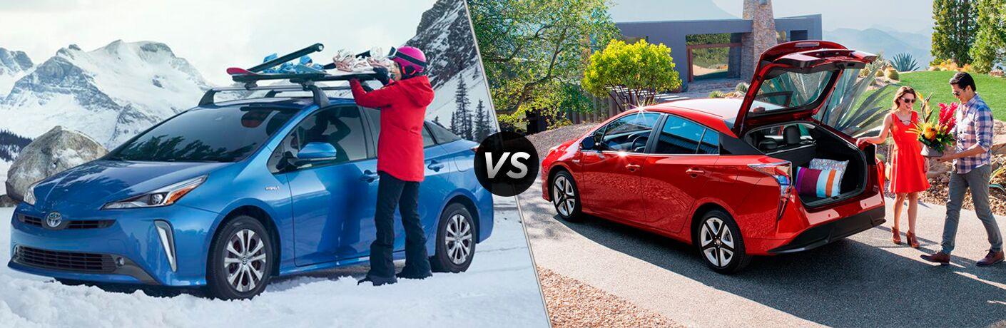 2019 Toyota Prius vs 2018 Toyota Prius
