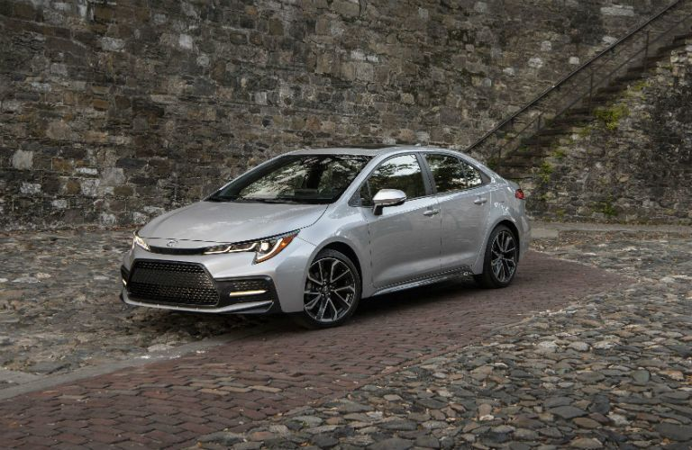 2020 Toyota Corolla Exterior Driver Side Front Profile