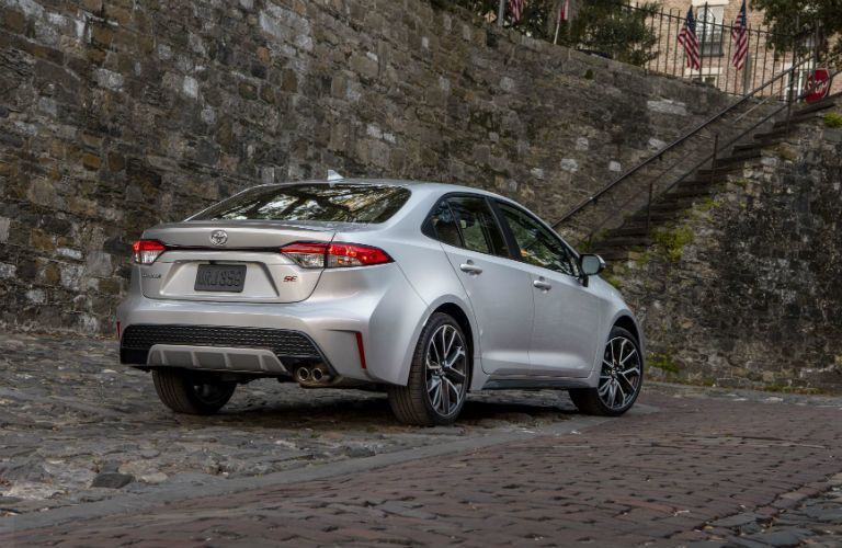 2020 Toyota Corolla Exterior Passenger Side Rear Profile