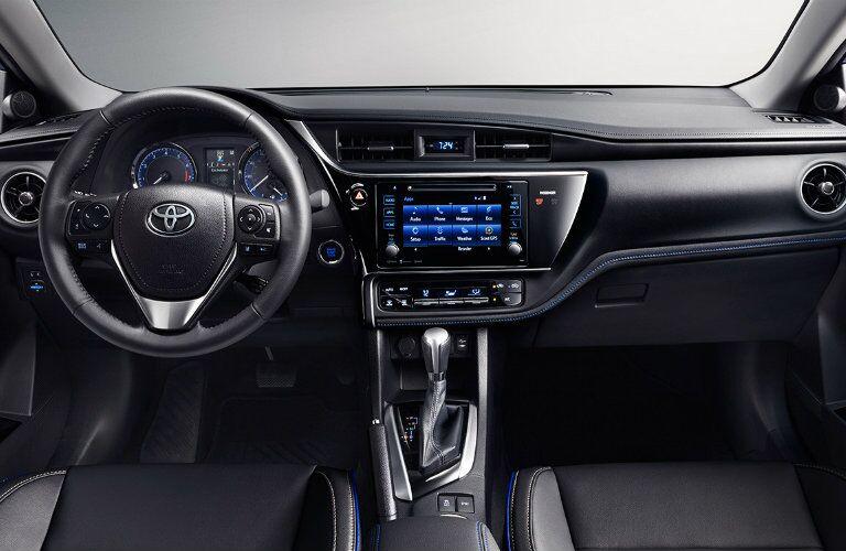 2017 Toyota Corolla interior space