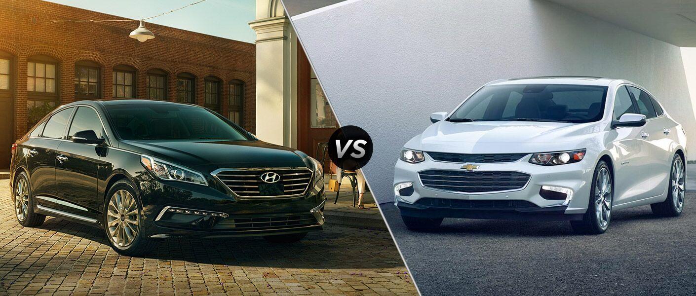 2016 Hyundai Sonata vs. 2016 Chevrolet Malibu