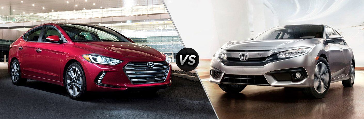 2017 Hyundai Elantra vs 2017 Honda Civic