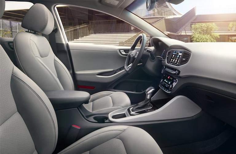 Front passenger view of 2017 Hyundai Ioniq Hybrid