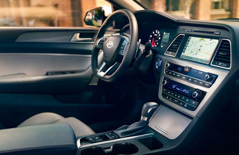 2017 Hyundai Sonata interior cabin front