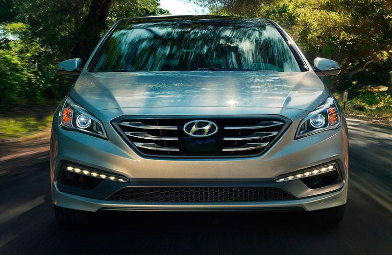 front of 2017 Hyundai Sonata