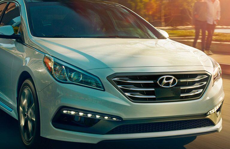 2017 Hyundai Sonata LED light detail