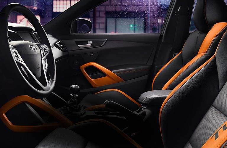 2017 Hyundai Veloster Turbo interior