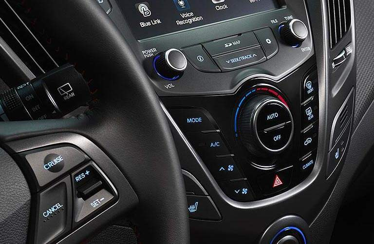 2017 Hyundai Veloster climate control