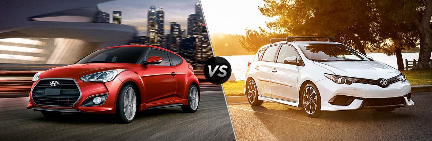 2017 Hyundai Veloster vs 2017 Toyota Corolla iM