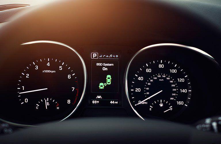 2017 Hyundai Santa Fe gauge cluster