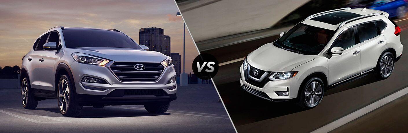 2017 Hyundai Tucson vs 2017 Nissan Rogue