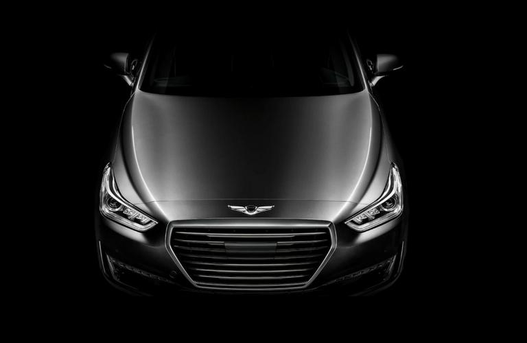 2017 Hyundai Genesis G90 front grille