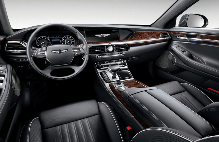 2017 Hyundai Genesis G90 leather interior