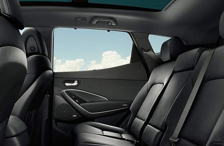 2018 Hyundai Santa Fe  with leather back side window