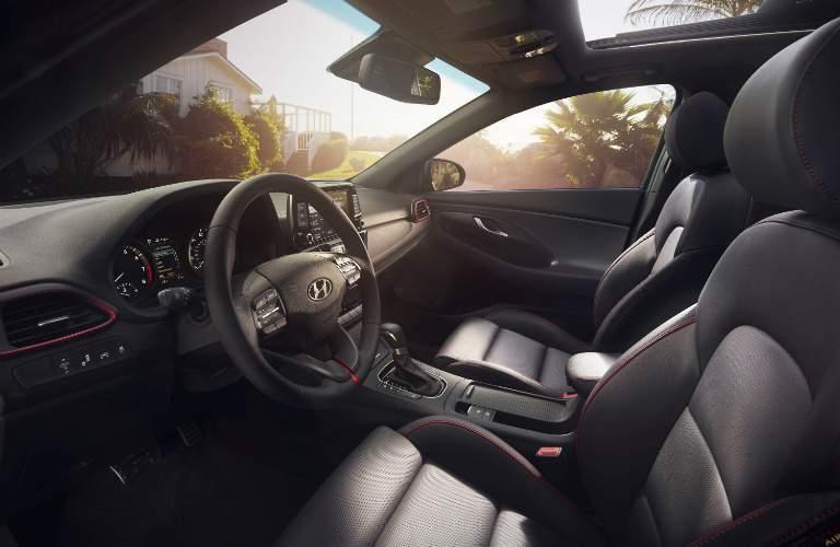 2018 Hyundai Elantra GT interior overview