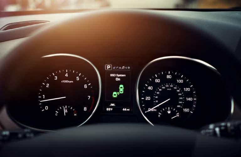 2018 Hyundai Santa Fe Sport gauge cluster