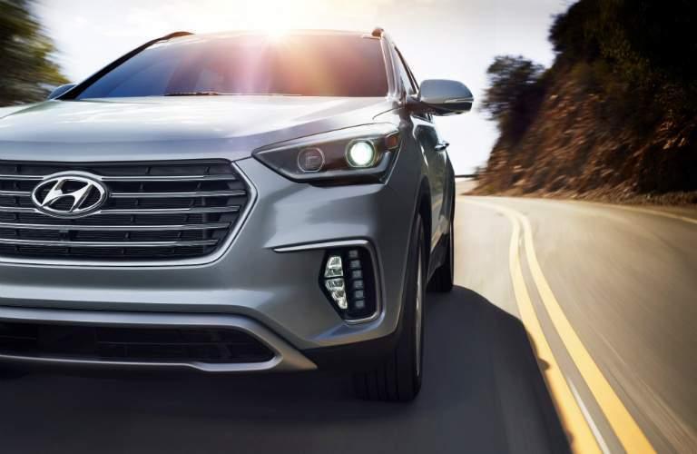2018 Hyundai Santa Fe Sport grille