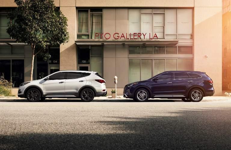 2018 Hyundai Santa Fe Sport and 2018 Hyundai Santa Fe