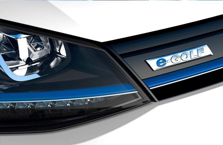 2016 Volkswagen e-Golf Torrance CA grille design
