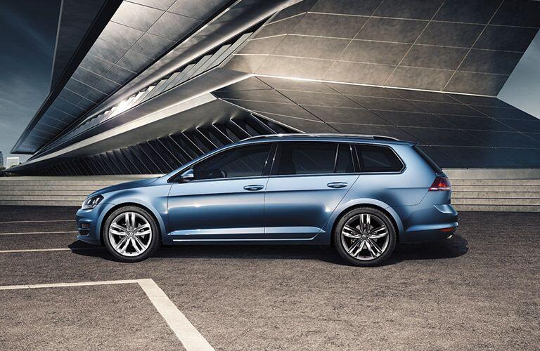 2016 vw golf sportwagen exterior profile design